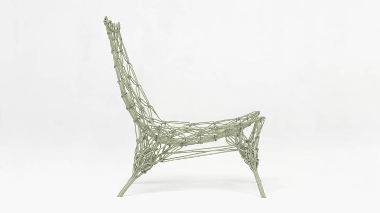 limited edition knotted chair by marcel wanders for cappellini at 1stdibs. Black Bedroom Furniture Sets. Home Design Ideas