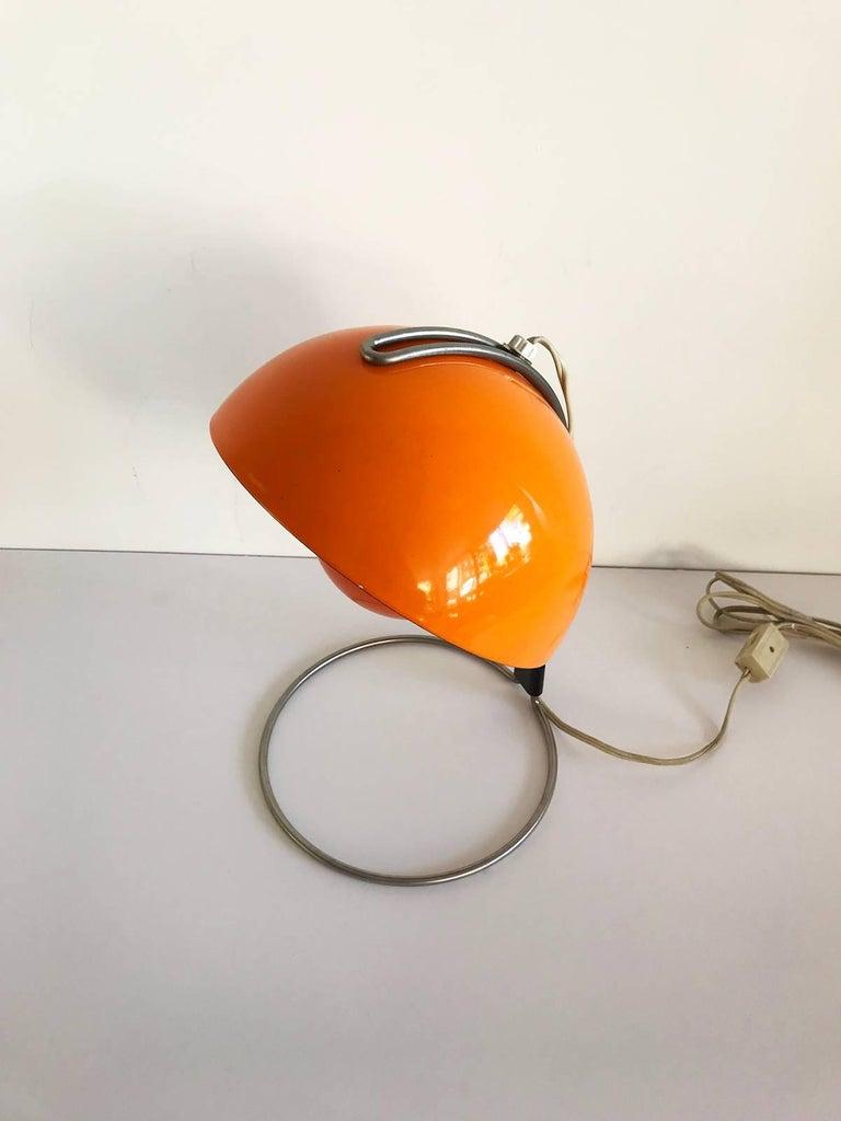 Verner Panton Lampe Orange