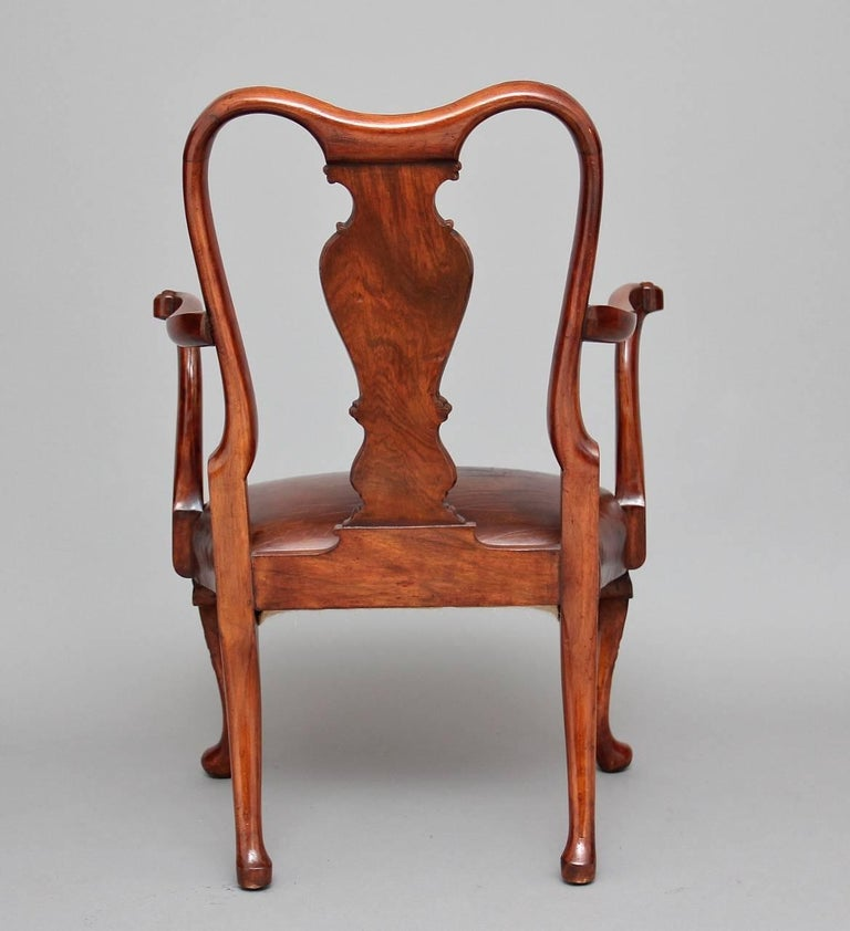 Strange Early 20Th Century Queen Anne Style Childs Chair Gamerscity Chair Design For Home Gamerscityorg