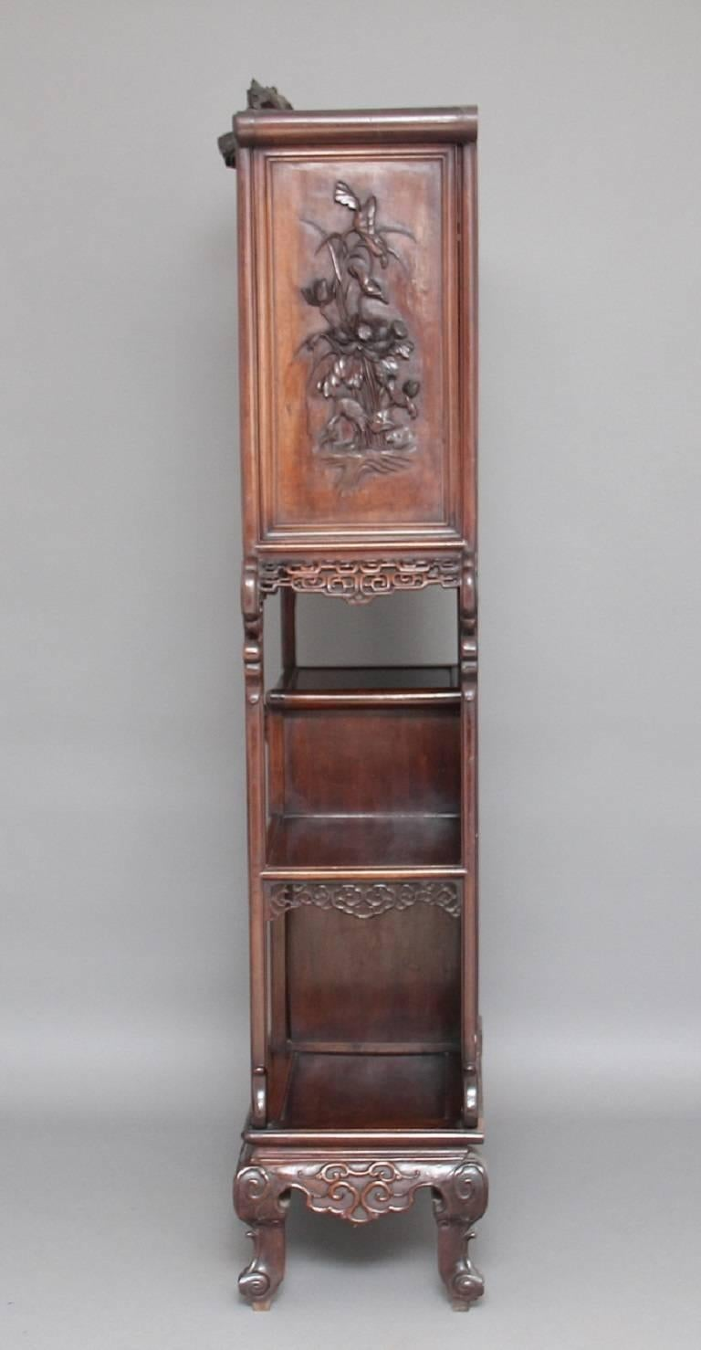 Late 19th Century 19th Century Chinese Cabinet For Sale
