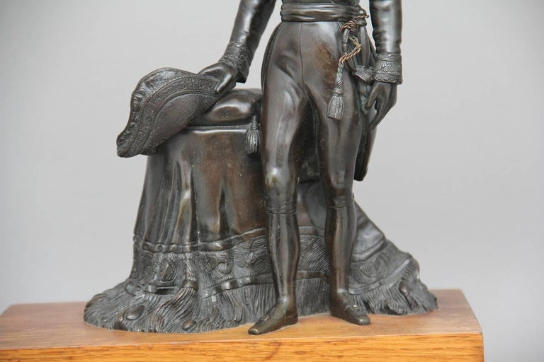 Pair of 19th Century French Bronzes For Sale 3