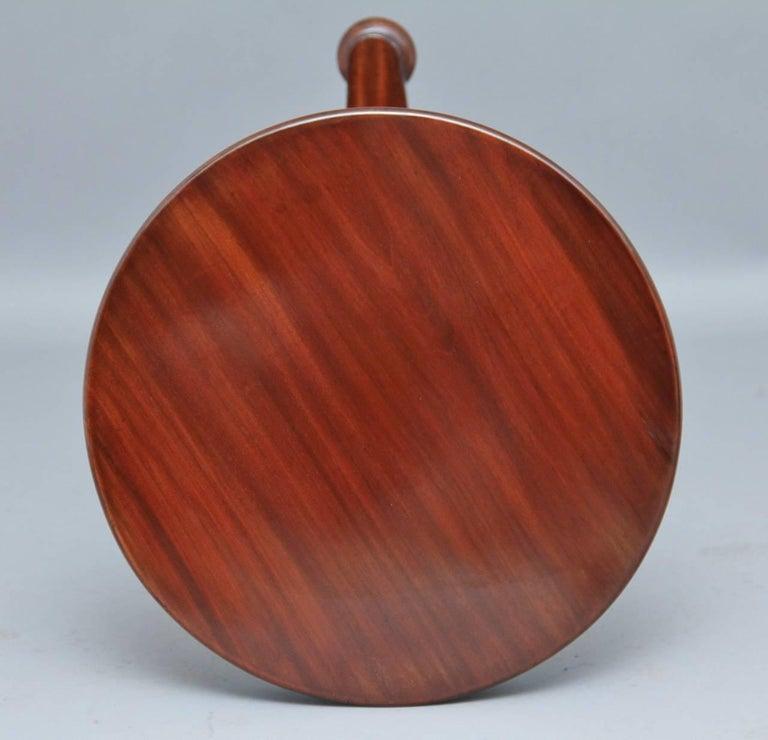 William IV 19th Century Mahogany Circular Dumbwaiter For Sale