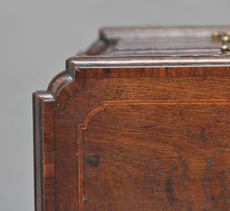 18th Century Oak Chest of Drawers For Sale 2
