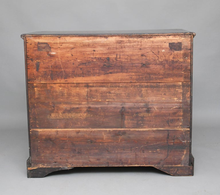 18th Century Oak Chest of Drawers For Sale 4