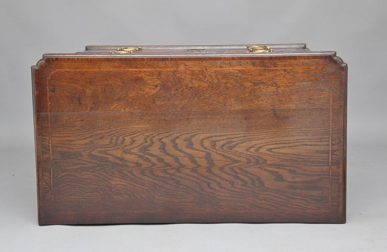 18th Century Oak Chest of Drawers For Sale 1