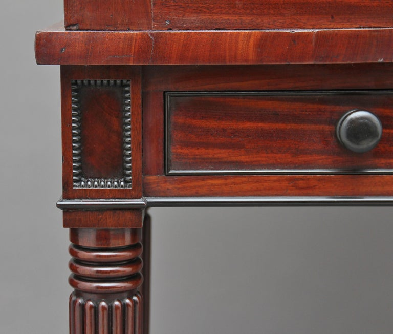 Early 19th Century Mahogany Collectors Cabinet For Sale 5