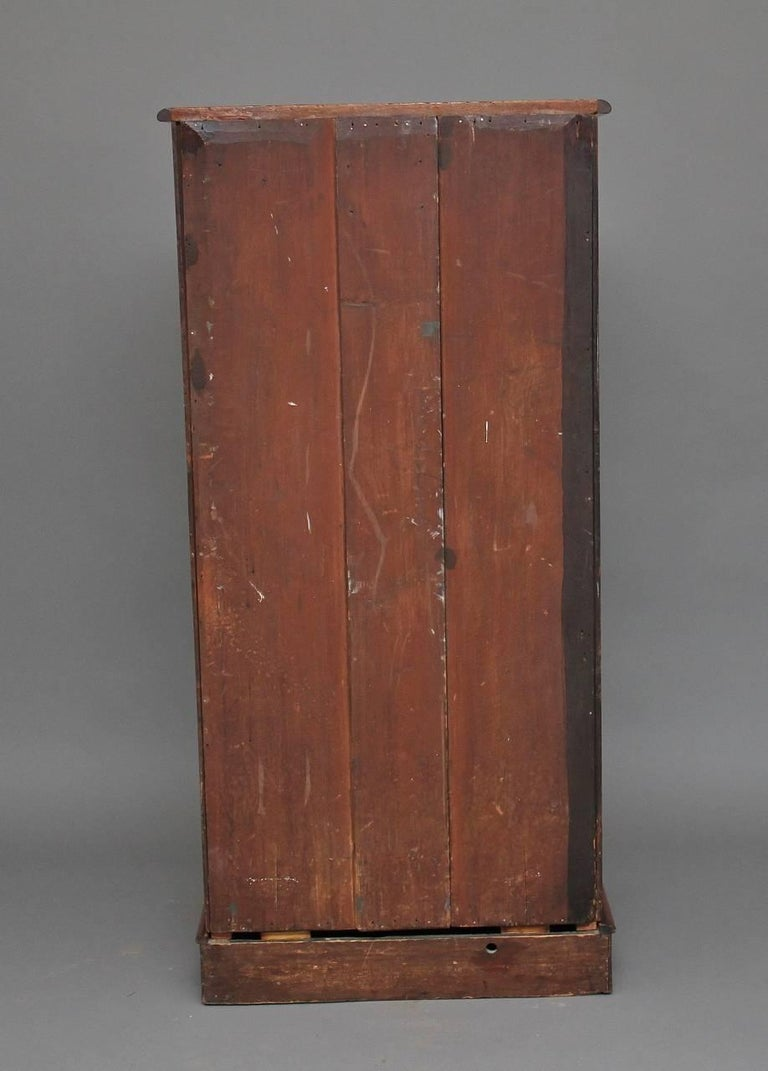 19th Century Seven-Drawer Mahogany Chest For Sale 1
