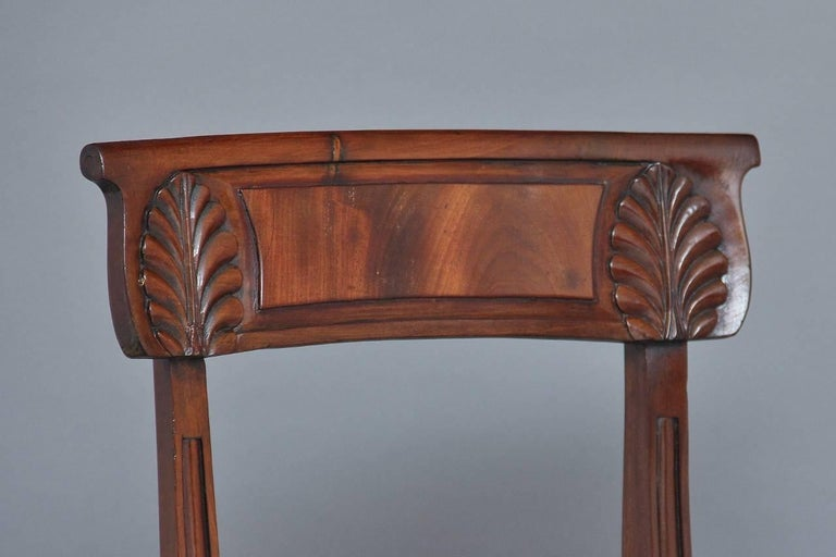 Set of Four 19th Century Dining Chairs For Sale 2
