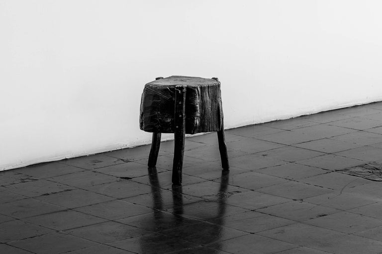 S.R.O Memoria Stool #1 by Ewe Studio In Excellent Condition For Sale In Mexico City, MX