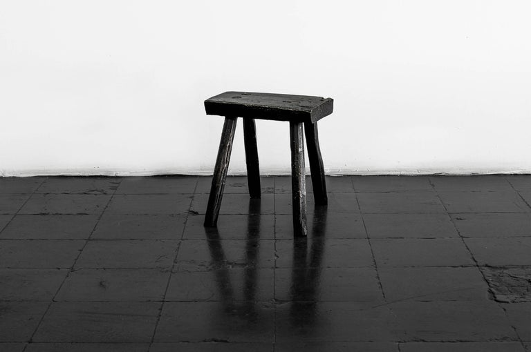 Hand-Crafted S.R.O Memoria Stool #2 by EWE Studio For Sale