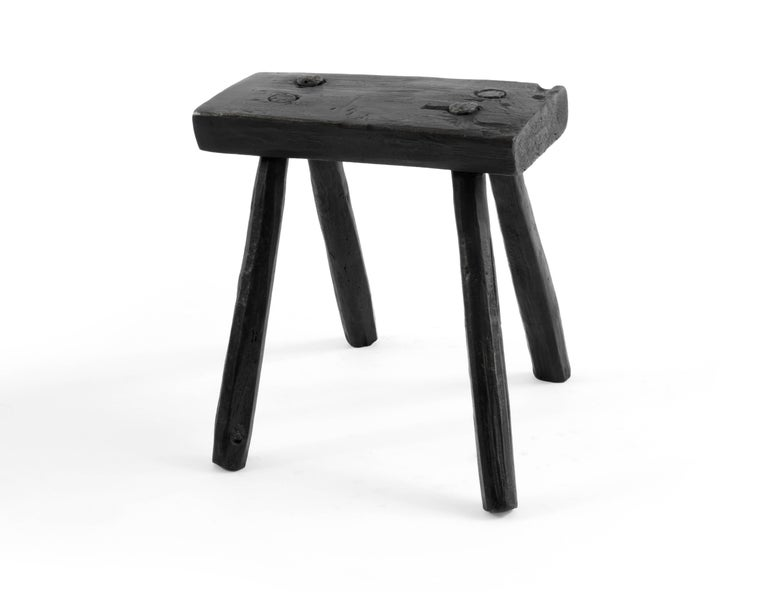 Brutalist S.R.O Memoria Stool #2 by EWE Studio For Sale