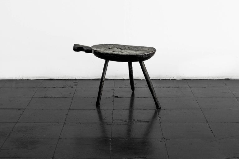Hand-Crafted S.R.O Memoria Stool #3 by EWE Studio For Sale