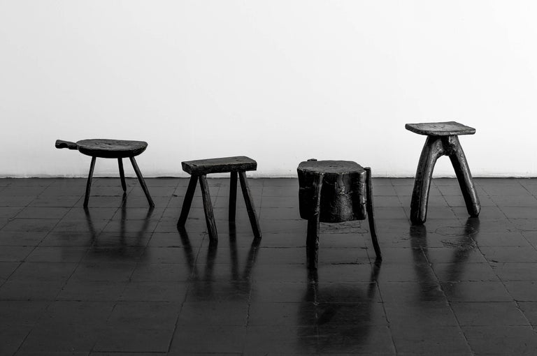 S.R.O Memoria Stool #3 by EWE Studio In Excellent Condition For Sale In Mexico City, MX