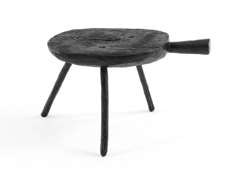 Mexican S.R.O Memoria Stool #3 by EWE Studio For Sale
