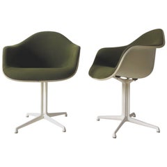 La Fonda DAL 1960s Herman Miller Armchairs by Girard & Charles Eames, Set of Two