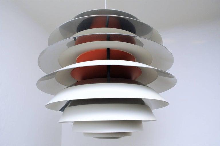 Vintage PH Kontrast Ceiling Lamp By Poul Henningsen For
