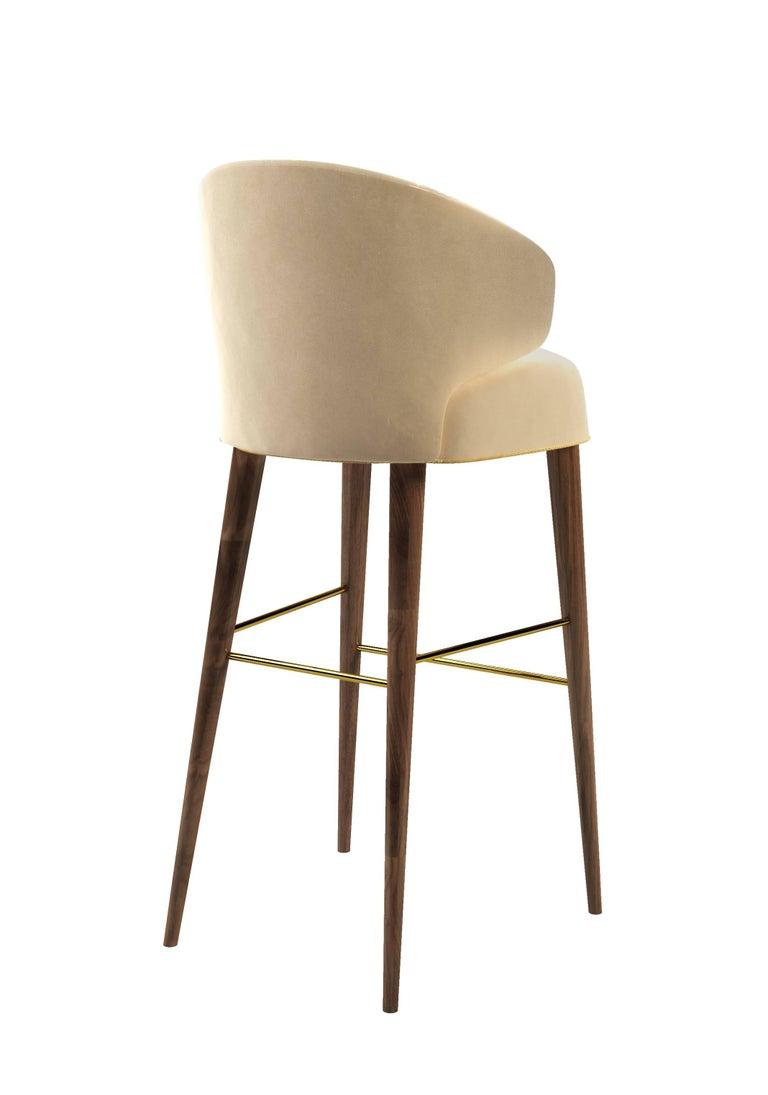 Modern Myla Bar Chair For Sale