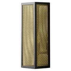 Edge Wall Light in Solid Brass Contemporary