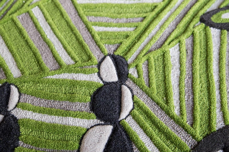Wool Angela Adams Underground Area Rug and Tapestry One-of-a-kind Handcrafted, Modern For Sale