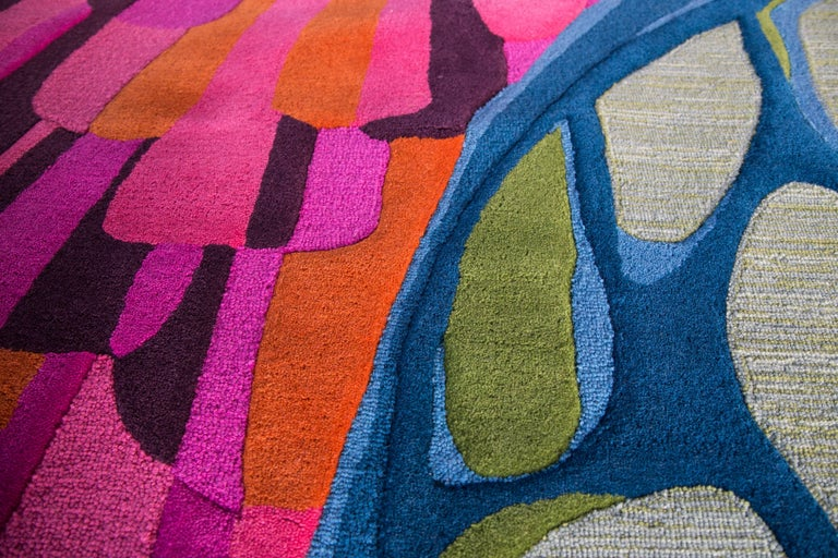 Angela adams sunset area rug and tapestry one of a kind Angela adams rugs