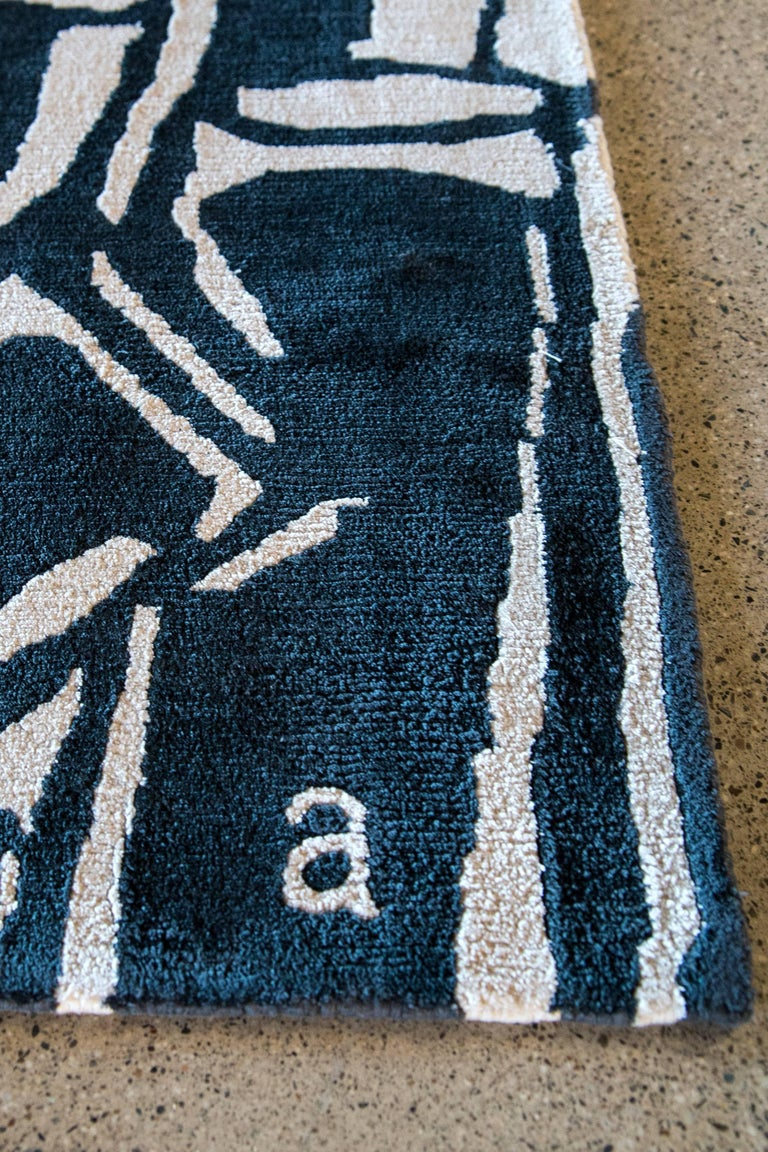 Contemporary Angela Adams Cave Fantasy Area Rug, Tapestry, One-of-a-kind, Handcrafted, Modern For Sale