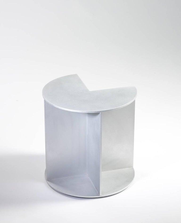Minimalist side table in .25