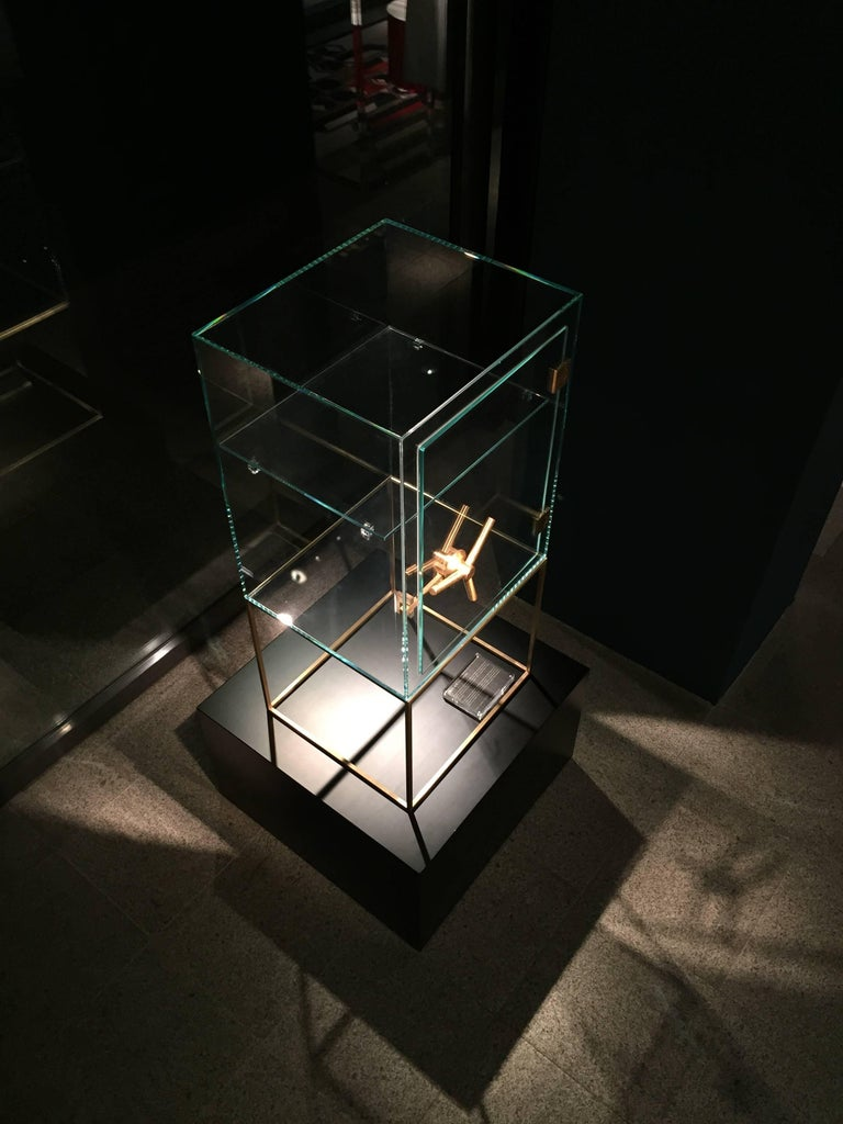 Precious Crystal Safe Storage Cabinet by Ctrlzak for Editions Milano In New Condition For Sale In Milan, IT