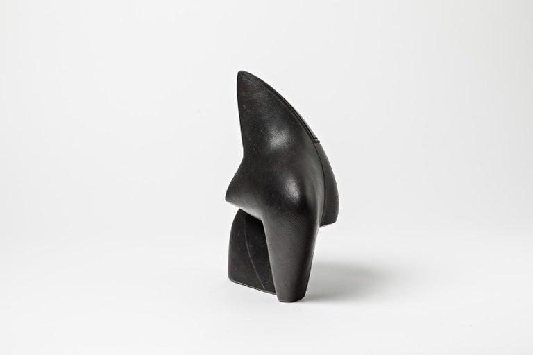 Unique Ceramic Sculpture by Pierre Martinon, circa 2000 In New Condition For Sale In Saint-Ouen, FR