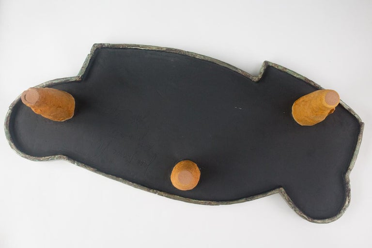 Exceptional Ceramic Coffee Table by Jean Pierre Viot, circa 2007 For Sale 1