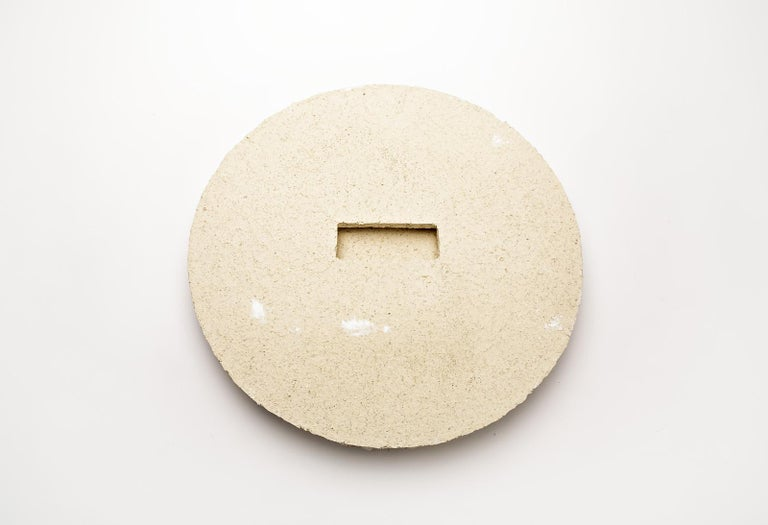 Ceramic Mirror by Denis Castaing, 2018 In New Condition For Sale In Saint-Ouen, FR