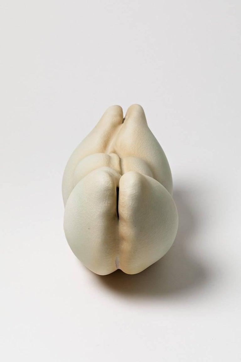 French Unique Porcelain Sculpture by Wayne Fischer, 2017 For Sale