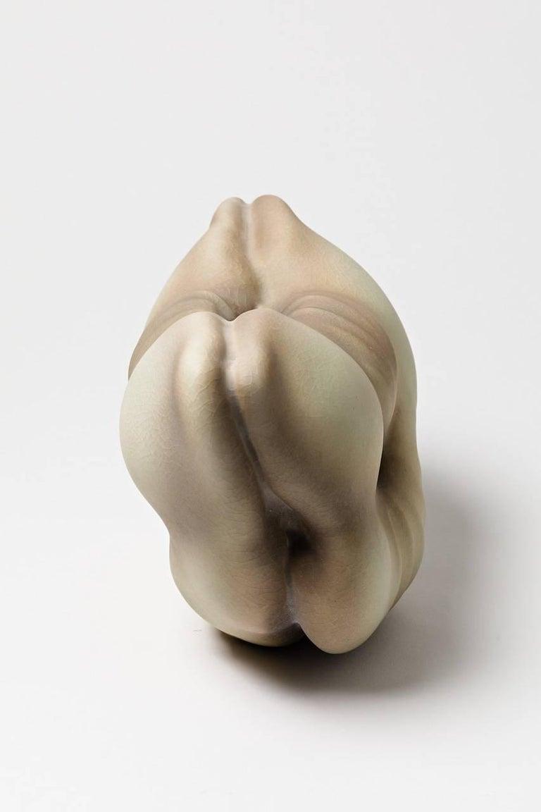 Beaux Arts Unique Porcelain Sculpture by Wayne Fischer, 2017 For Sale