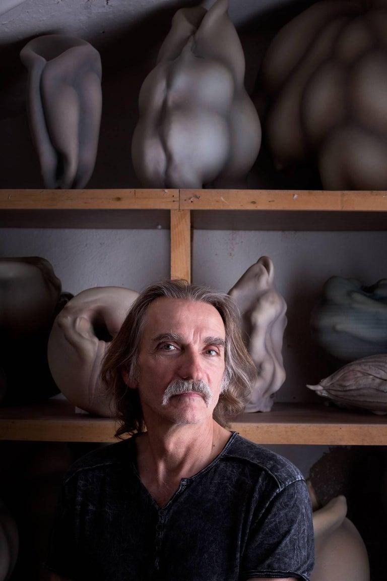 Unique Porcelain Sculpture by Wayne Fischer, 2017 For Sale 3