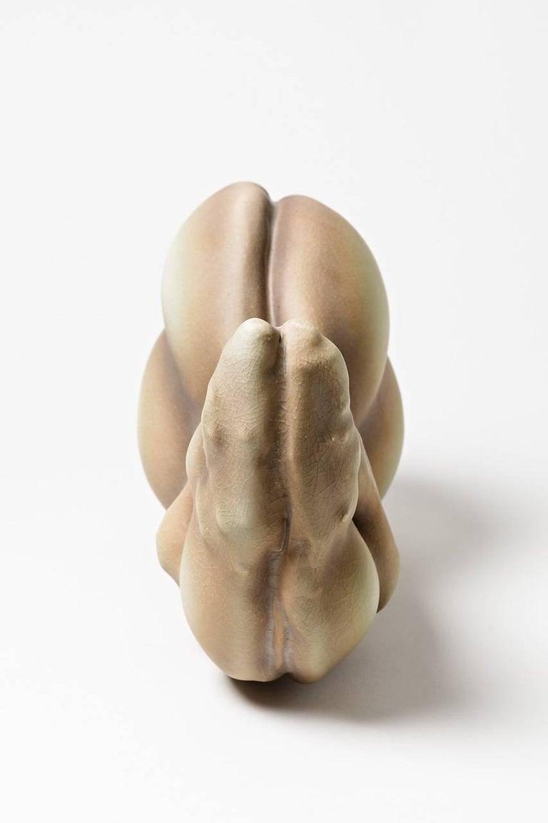 Contemporary Unique Porcelain Sculpture by Wayne Fischer, 2017 For Sale