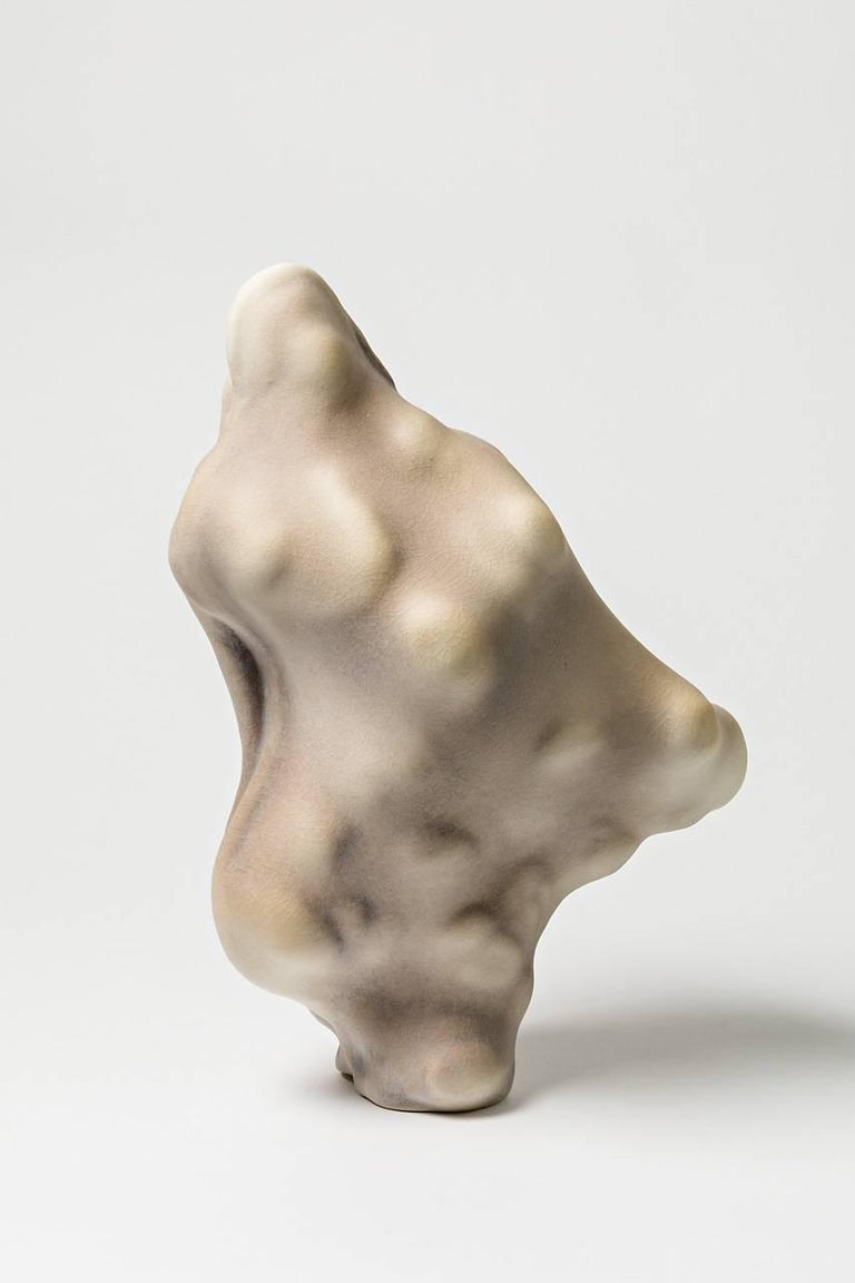 An unique porcelain sculpture by Wayne Ficher.