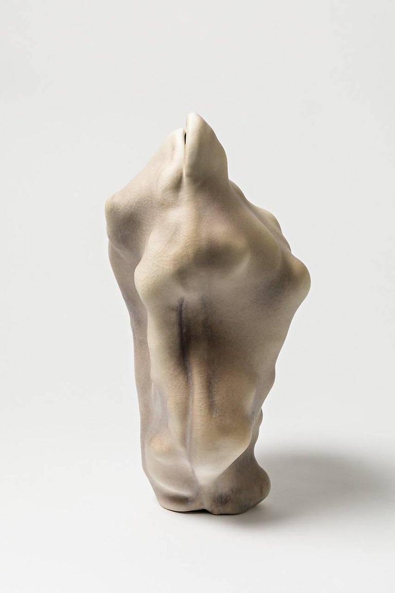 Beaux Arts Unique Porcelain Sculpture by Wayne Fischer, 2017  For Sale