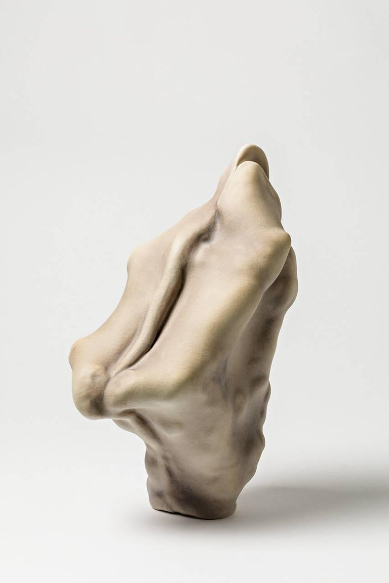 Unique Porcelain Sculpture by Wayne Fischer, 2017  In Excellent Condition For Sale In Saint-Ouen, FR