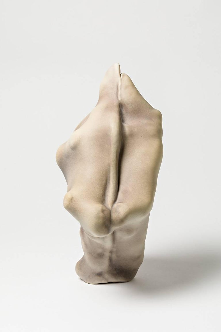 Contemporary Unique Porcelain Sculpture by Wayne Fischer, 2017  For Sale