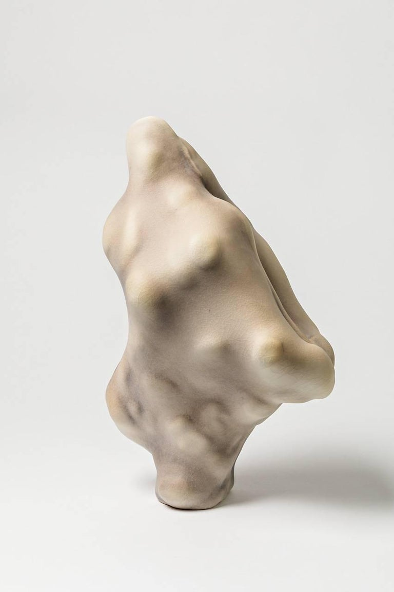 Ceramic Unique Porcelain Sculpture by Wayne Fischer, 2017  For Sale