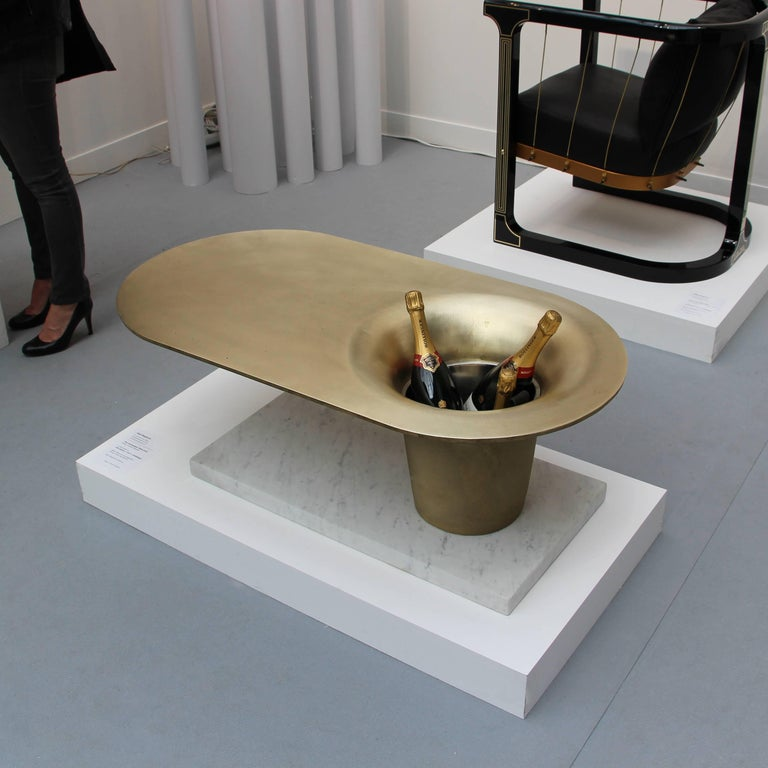 Marble Coffee Table Leather Sofa: Cocktail Sofa Table 'The Champagne Table' Glen Baghurst