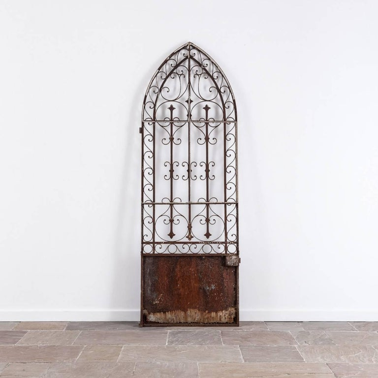 19th Century French Wrought Iron Gate For Sale 1