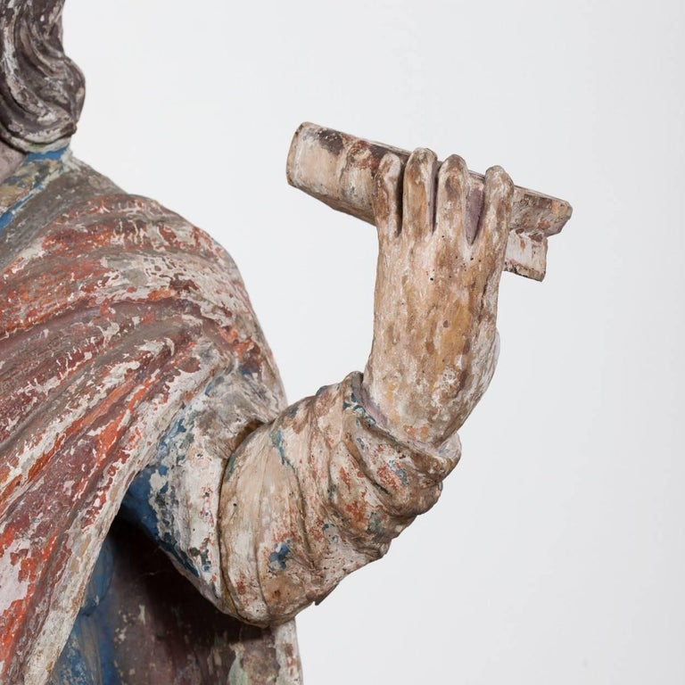 16th Century Carving of Saint Paul In Good Condition For Sale In York, GB