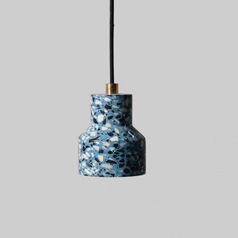 Superieur Tu, Red Terrazzo And Concrete Pendant Lamp