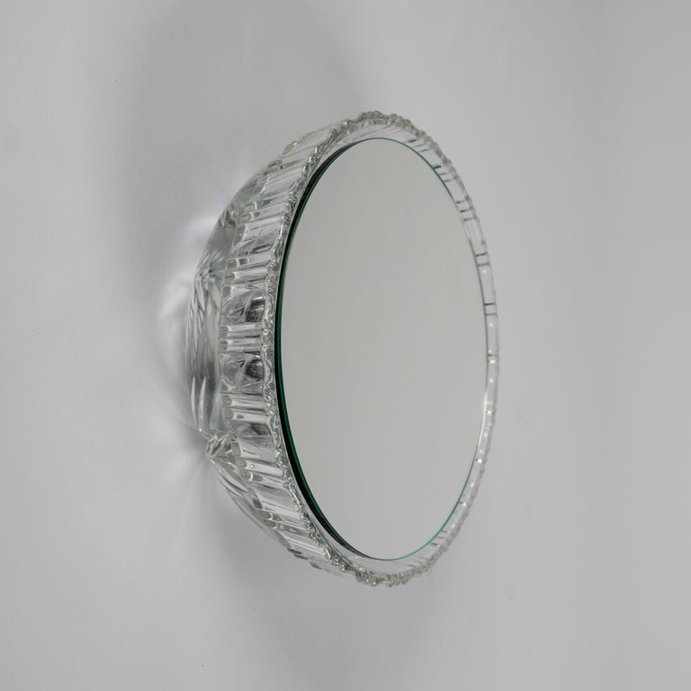 Wall Mirrors 'Saturn' Vintage Style 'Glass Frame' For Sale 3