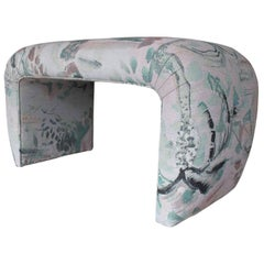 Eskayel, Souk, Duomo Medium Jacquard Waterfall Bench