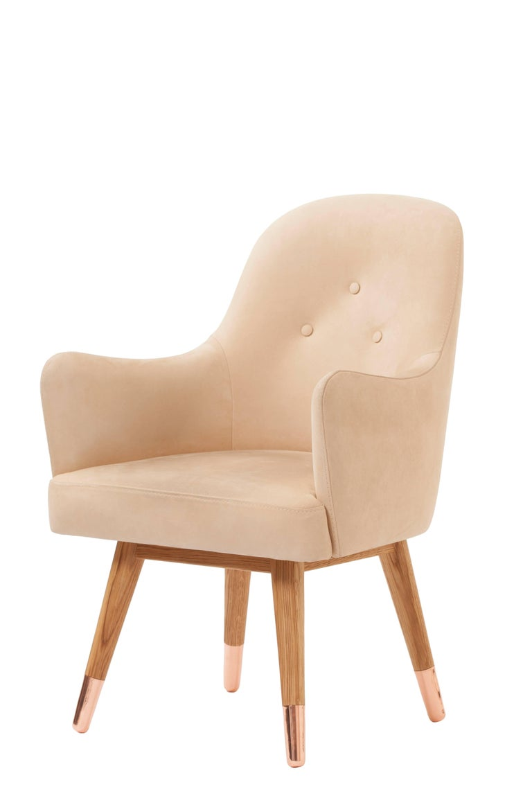 Dandy chair by Istanbul-based designer Merve Kahraman is designed to bring a fresh, modern, natural style to its environment. Comfort and style are keys to this contemporary design which would grace any modern setting. 