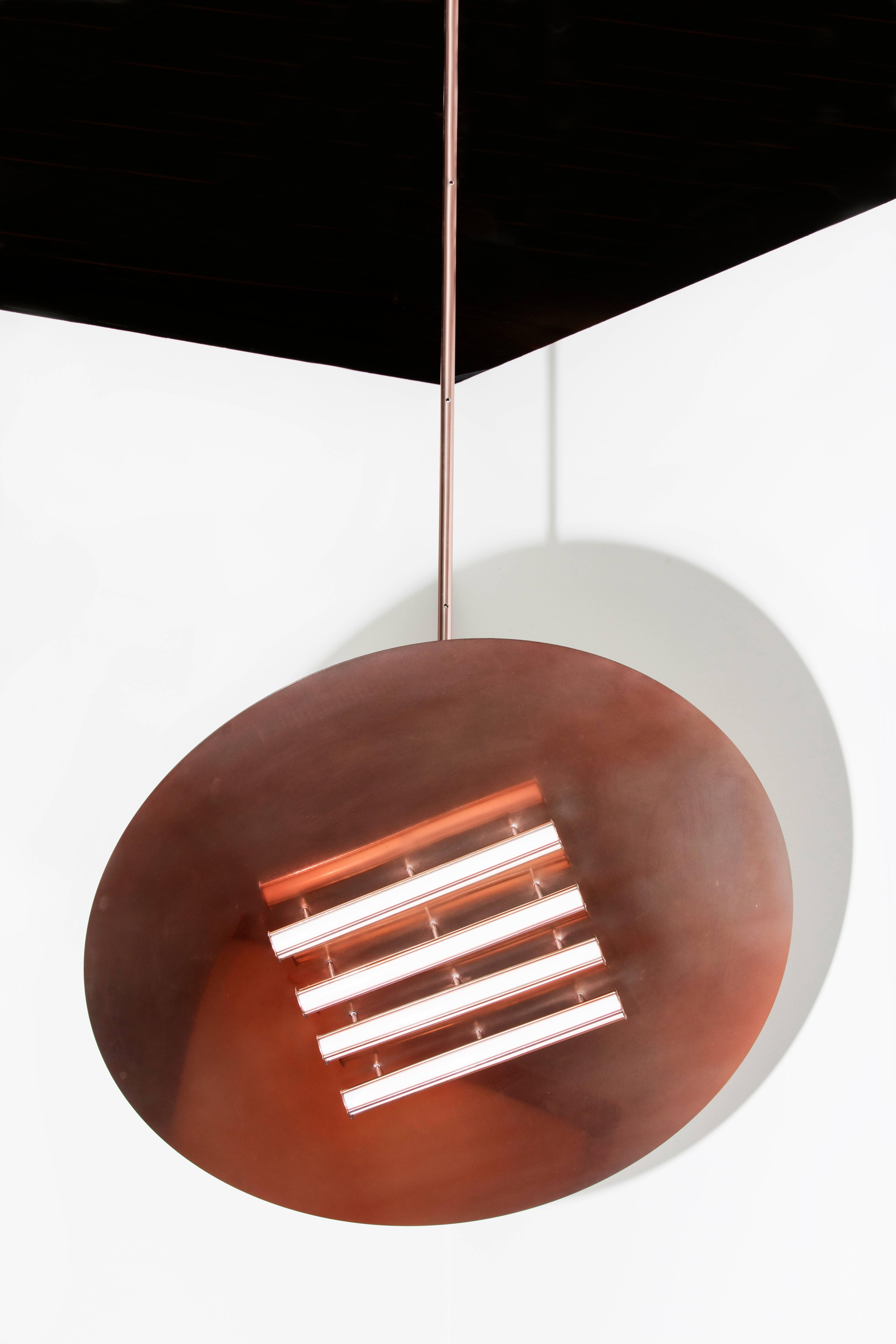 crosby collection large pendant light. Heating LED Lamp II Chandelier Pendant Light In Painted Steel For Sale At 1stdibs Crosby Collection Large