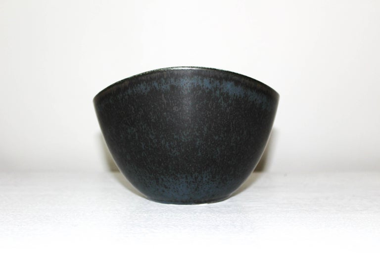 Mid-20th Century Gunnar Nylund Large Ceramic Bowl for Rörstrand For Sale