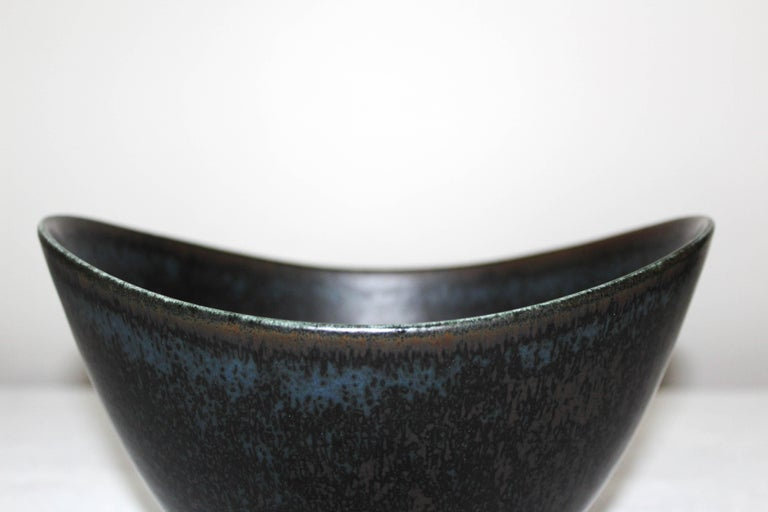 Gunnar Nylund Large Ceramic Bowl for Rörstrand For Sale 4