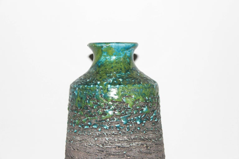 Midcentury Swedish Ceramic Vase For Sale At 1stdibs